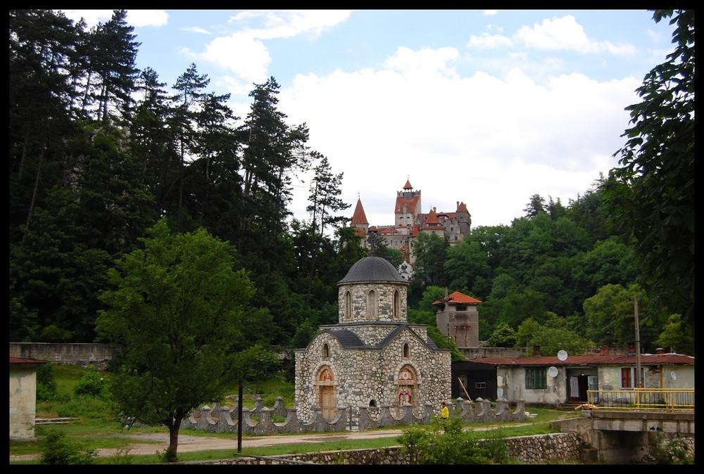 chateau dit de dracula ( bran transylvanie)