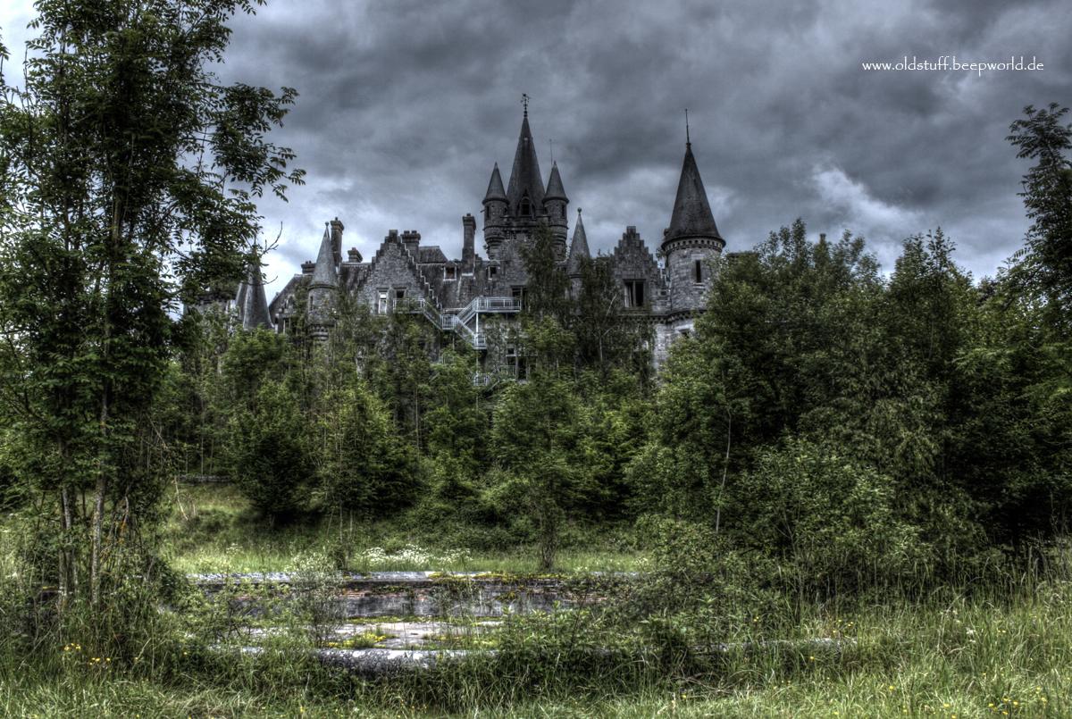 Chateau Noisy Rückansicht