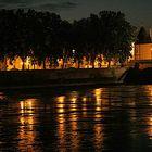 Chatellerault, les quais de  la Vienne