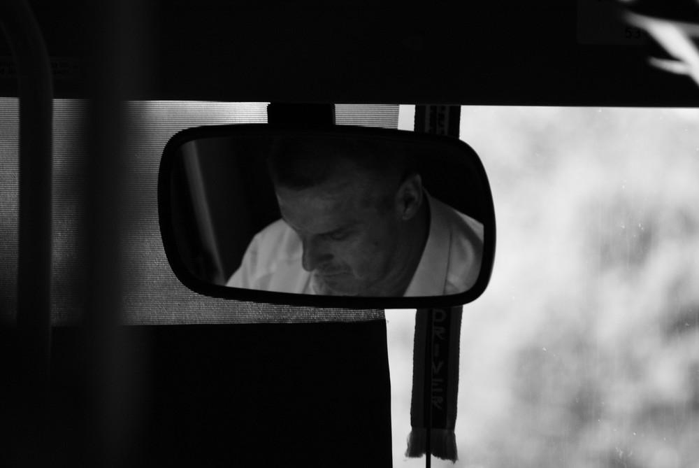 Chauffeur de car.