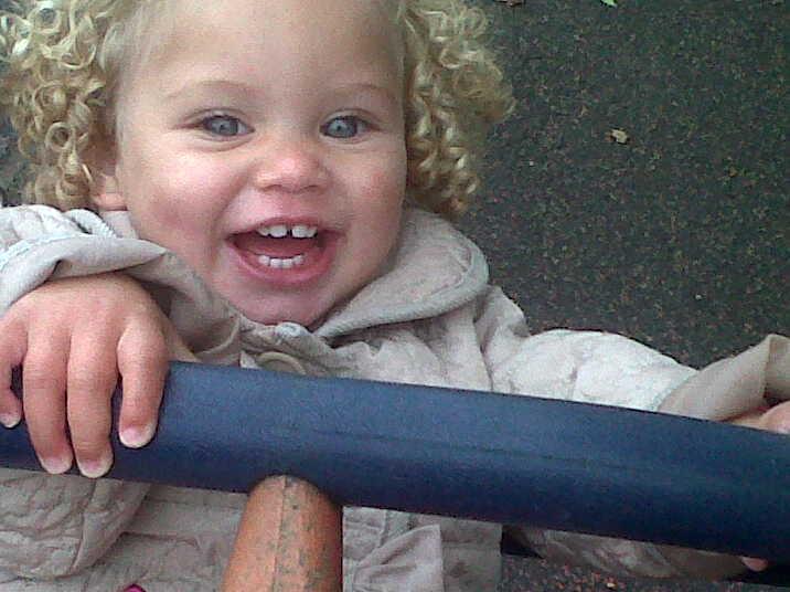 Chaya Ivy at the park..