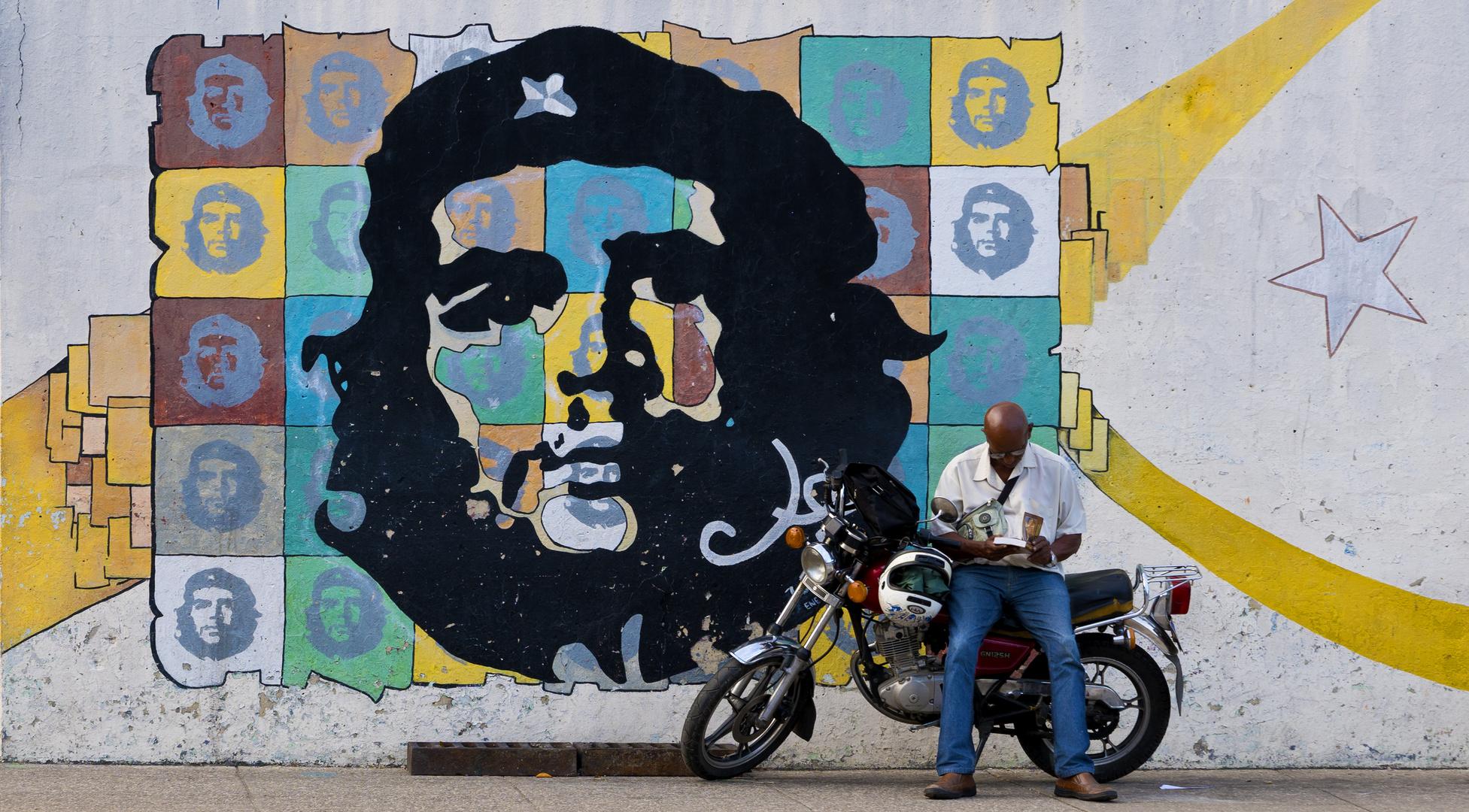Che Guevara - adoración de héroes - 2016