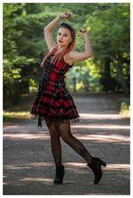 Checkered Girl