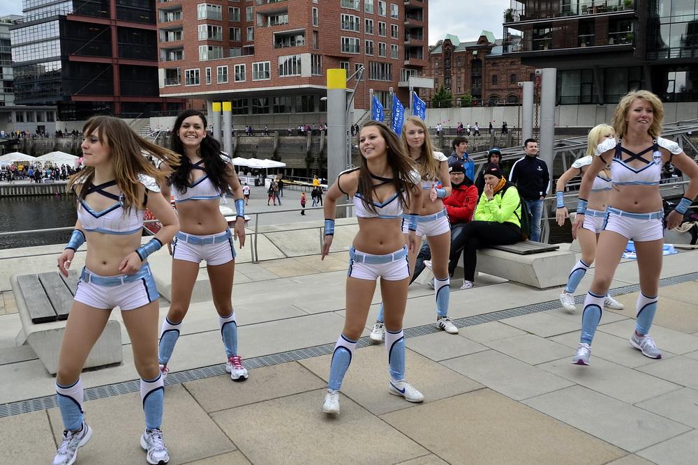 Cheerleader der Freezers