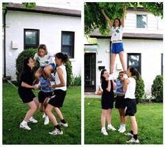cheerleader practice
