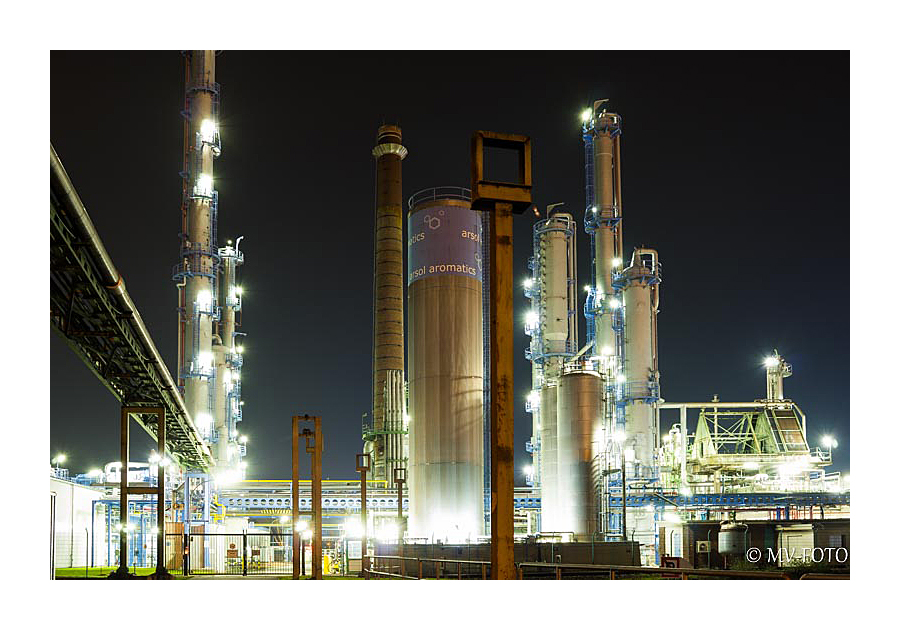 Chemie-Werk am Gelsenkirchener Hafen