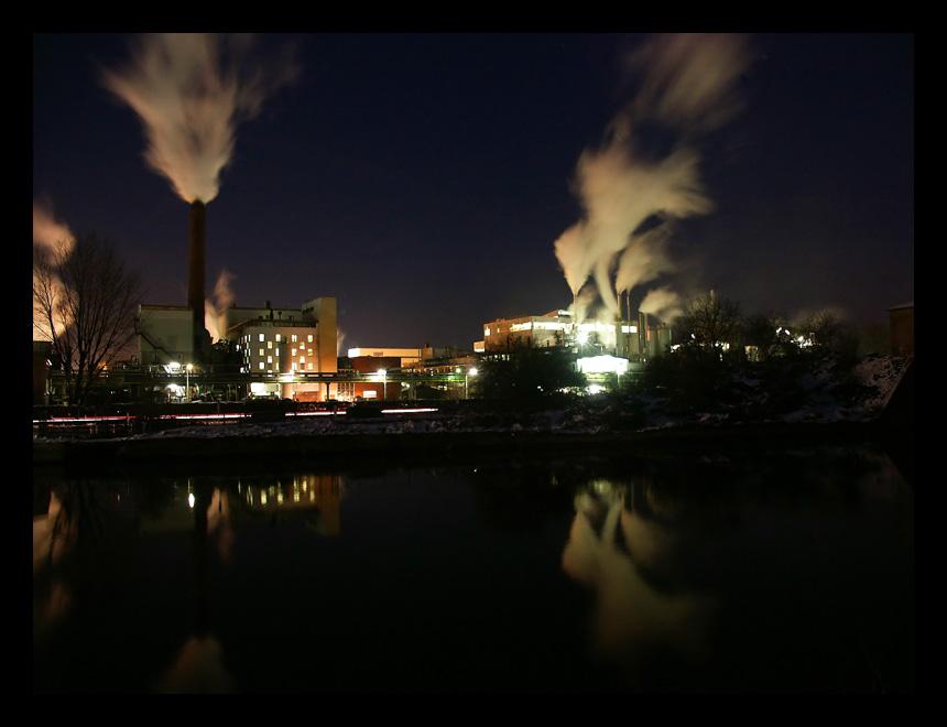 Chemiefabrik in Ladenburg