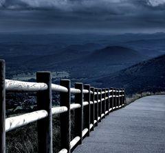 Chemin au sommet