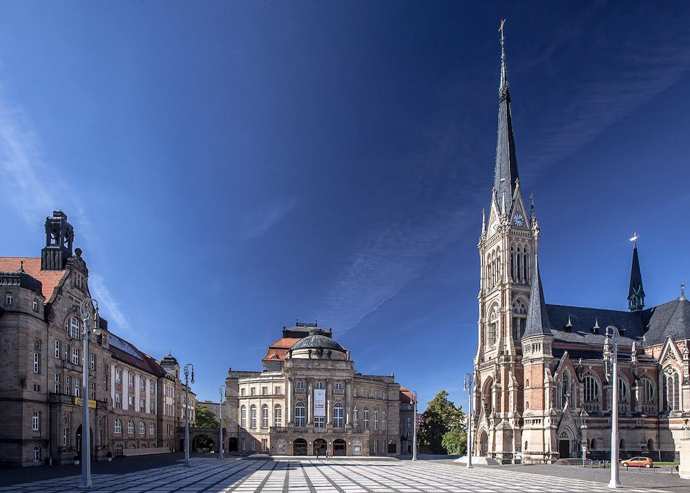 Chemnitz, Opernplatz