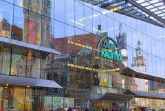 Chemnitz Spiegelungen am Marktplatz