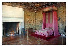 Chenonceau : La chambre des cinq Reines