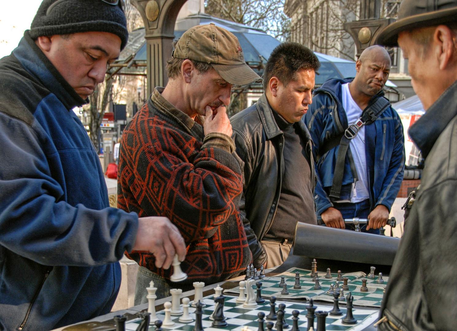 Chess Al Fresco