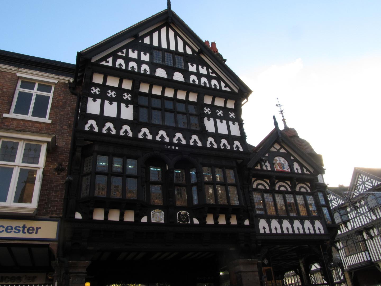 Chester´s Fachwerkhäuser - Chester Row