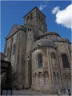 Chevet de la Collégiale Saint-Pierre (XIIème)  --  Chauvigny