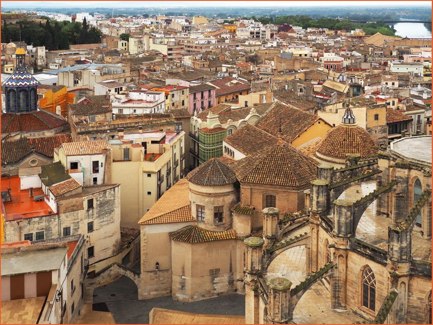 Chevets de la Cathédrale Sainte-Marie, du couvent et dépendances  --  Tortosa