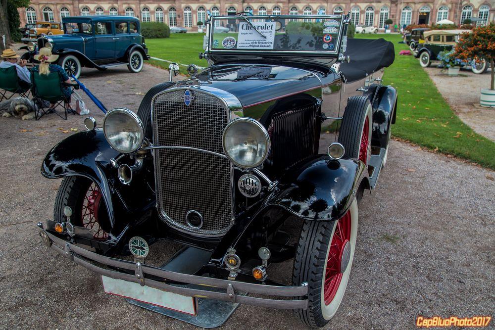 Chevrolet aus dem Jahre 1931 bei Classic Cars Schwetzingen