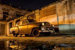 Chevrolet Bel Air, 1953, Habana, Muralla