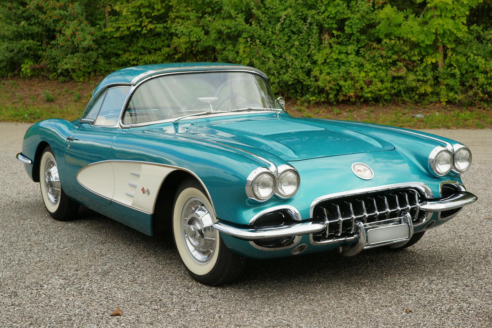 chevrolet corvette c1 1958 foto bild autos zweir der. Black Bedroom Furniture Sets. Home Design Ideas