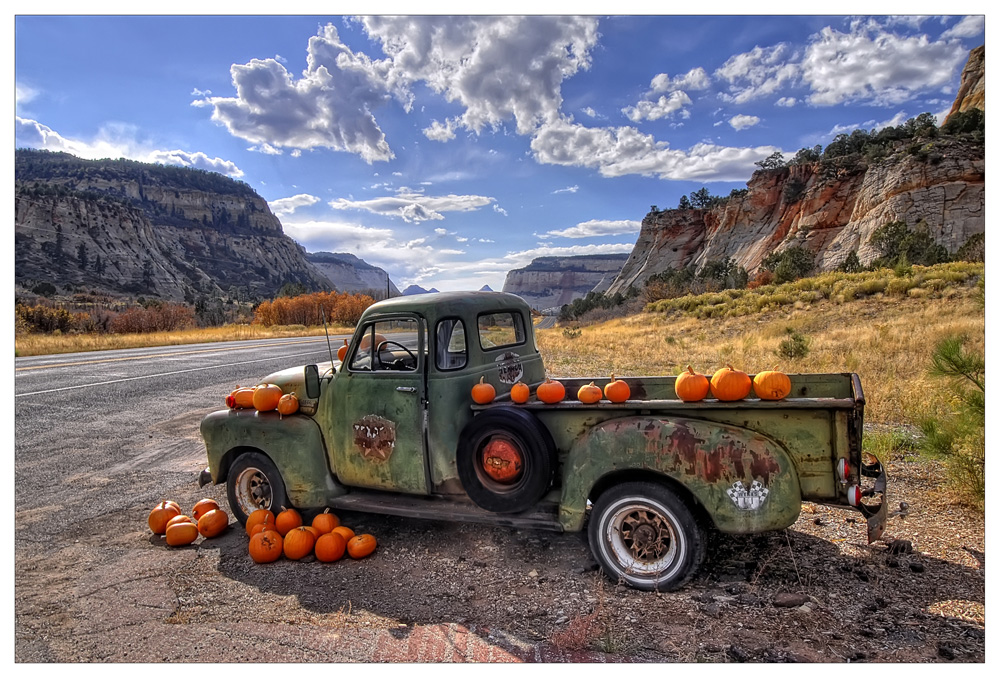Chevy & Pumpkins