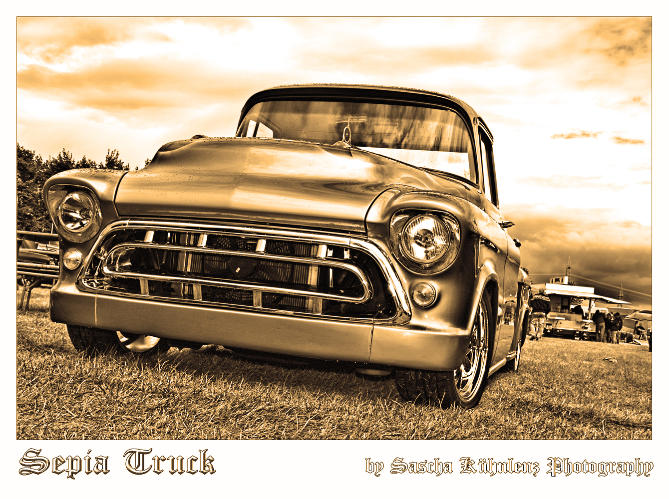 Chevy Truck ( Sepia-getont )