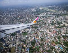 Chiang Mai desde el aire