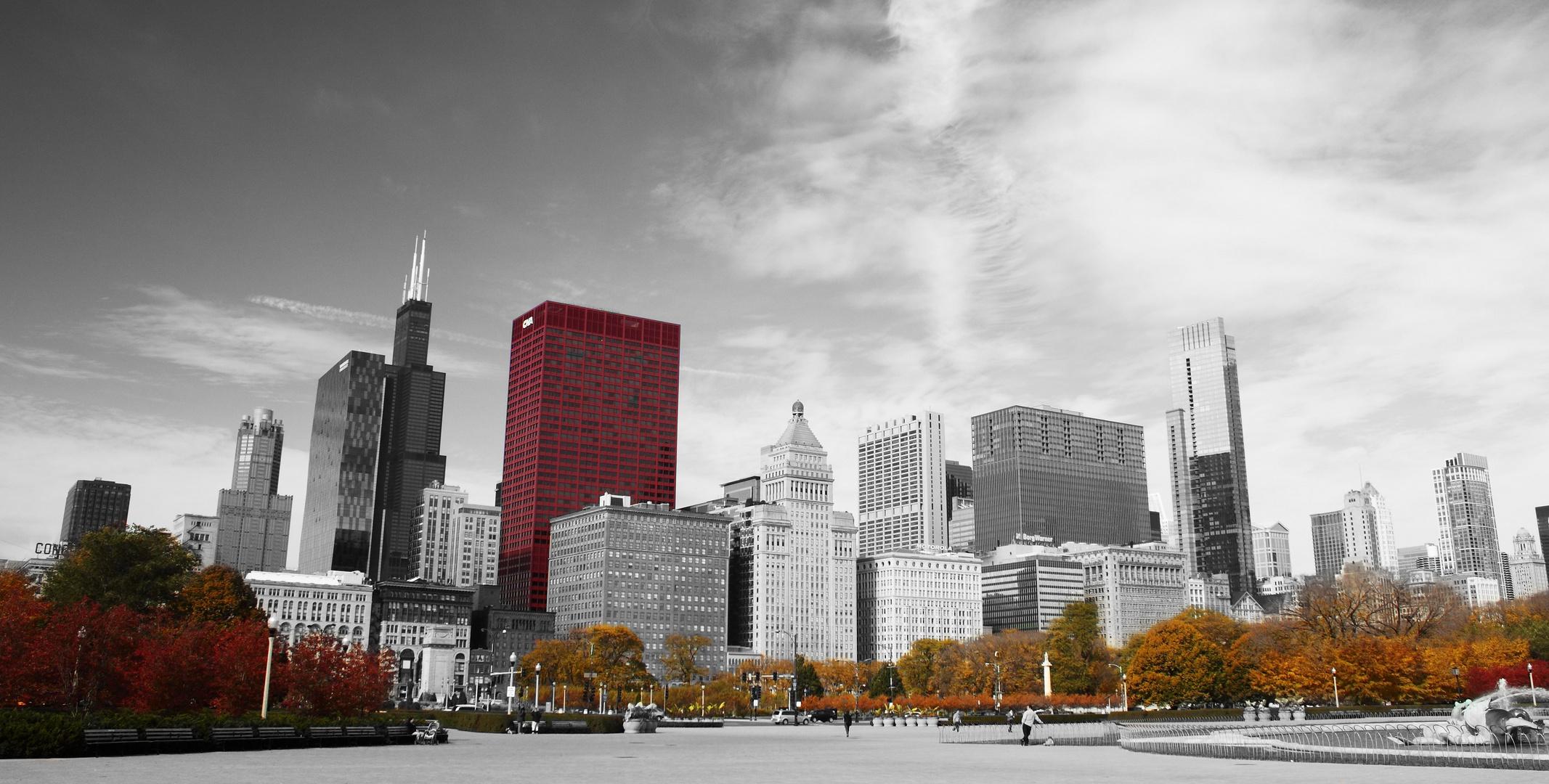 - Chicago im Herbst -