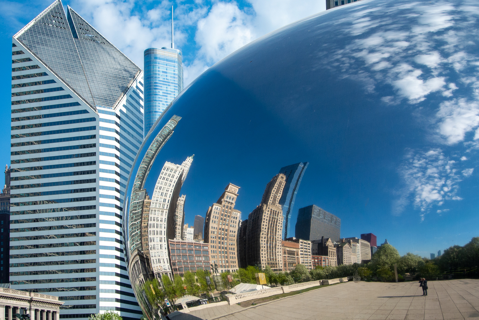 Chicago im Spiegel