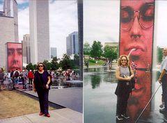 Chicago - Millennium Park Crown Fountain