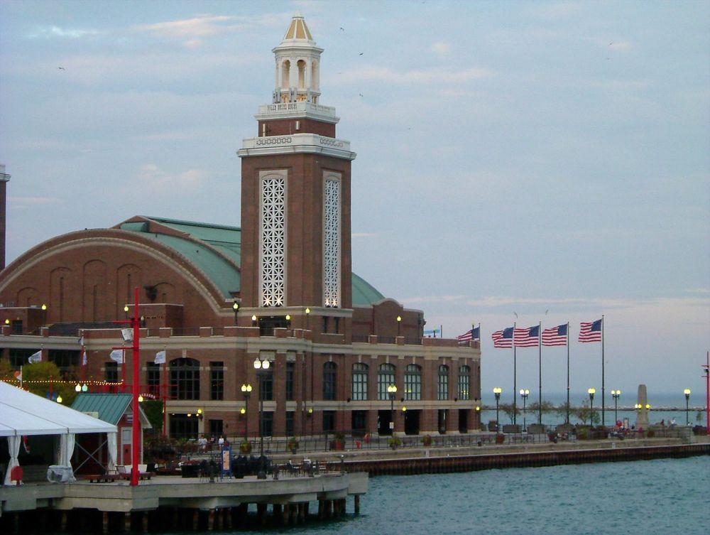 Chicago - Navy Pier, Auditorium Building