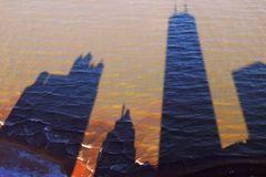 Chicago Skyline Shadow