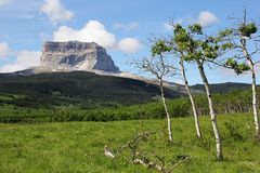 "Chief Mountain - ""Berg des Großen Häuptlings"" (2768 m)...."