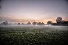 Chiemgauer Morgennebel