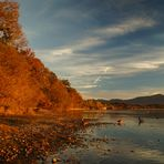 Chieminger Herbst am Chiemsee