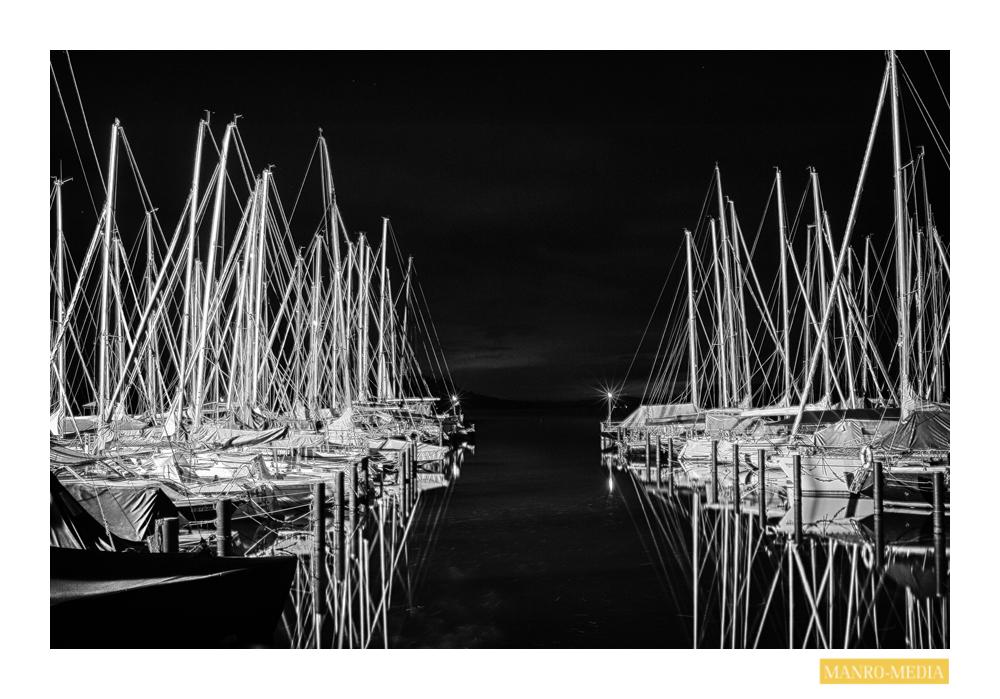 Chiemsee bei Nacht