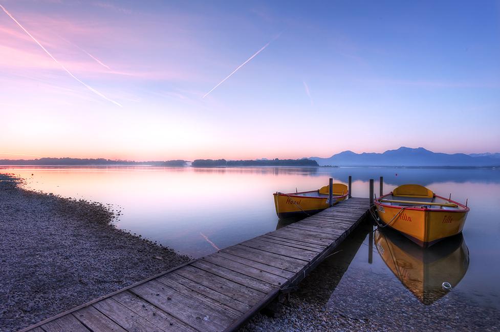 Chiemssee früh am Morgen
