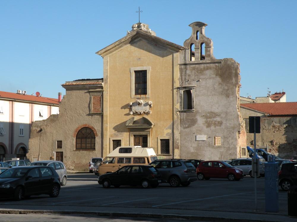 Chiesa dei poveri a Livorno