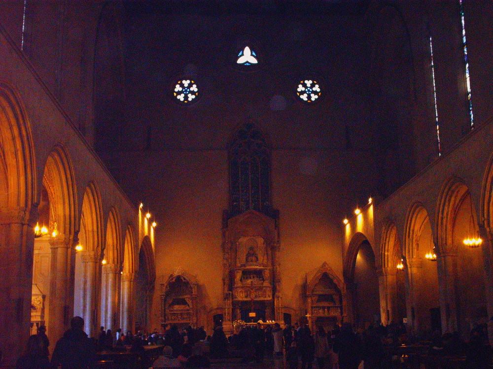 Chiesa di Santa Chiara - (interno) Napoli