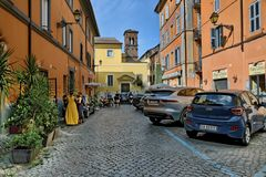 Chiesa di Santa Rufina e Seconda (Roma Trastevere)