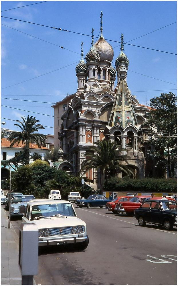 Chiesa russa a San Remo.