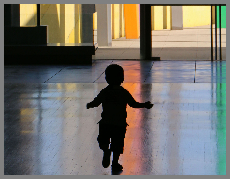 child at melbourne museum 2