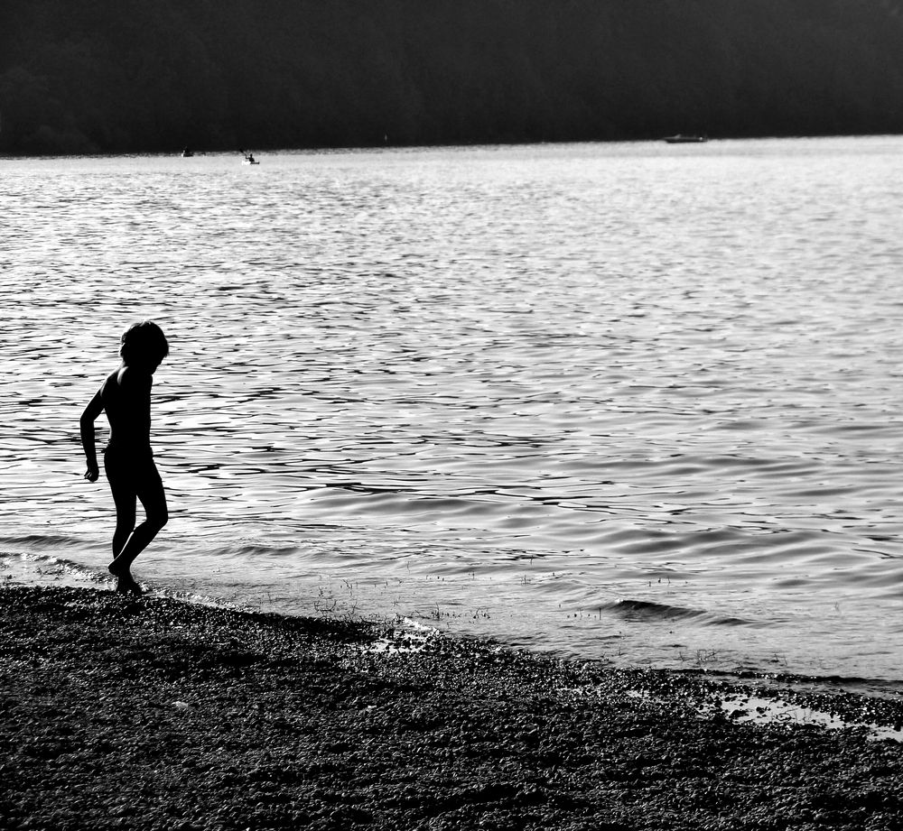 Child By The Water