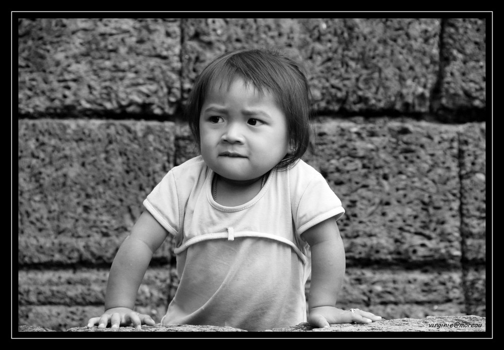 Child in Angkor