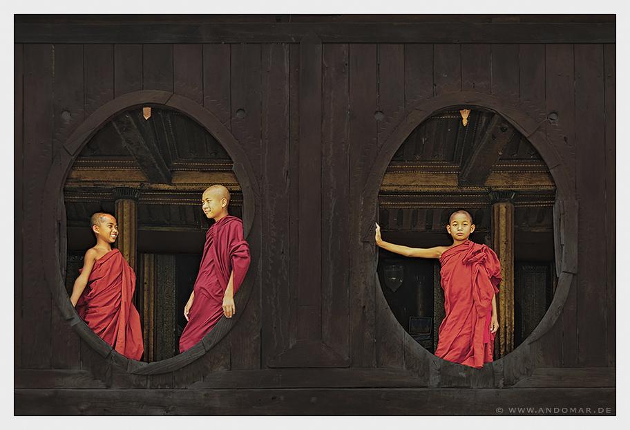 child monks