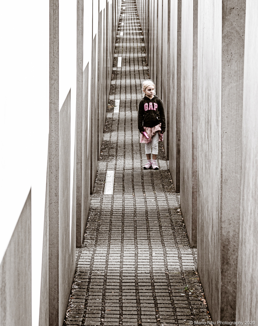 Child without guilt - memorial of the murdered Jews in Europe, Berlin