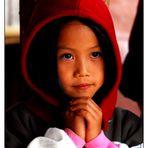 Children from the Lisu Village