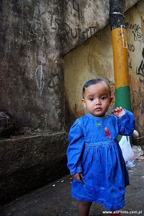 Children of Favela Vila Canoas, Rio de Janeiro