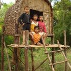Children of Khmer Leu in province ratanakiri, Cambodia 2009
