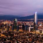 Chile | Atardecer en Santiago