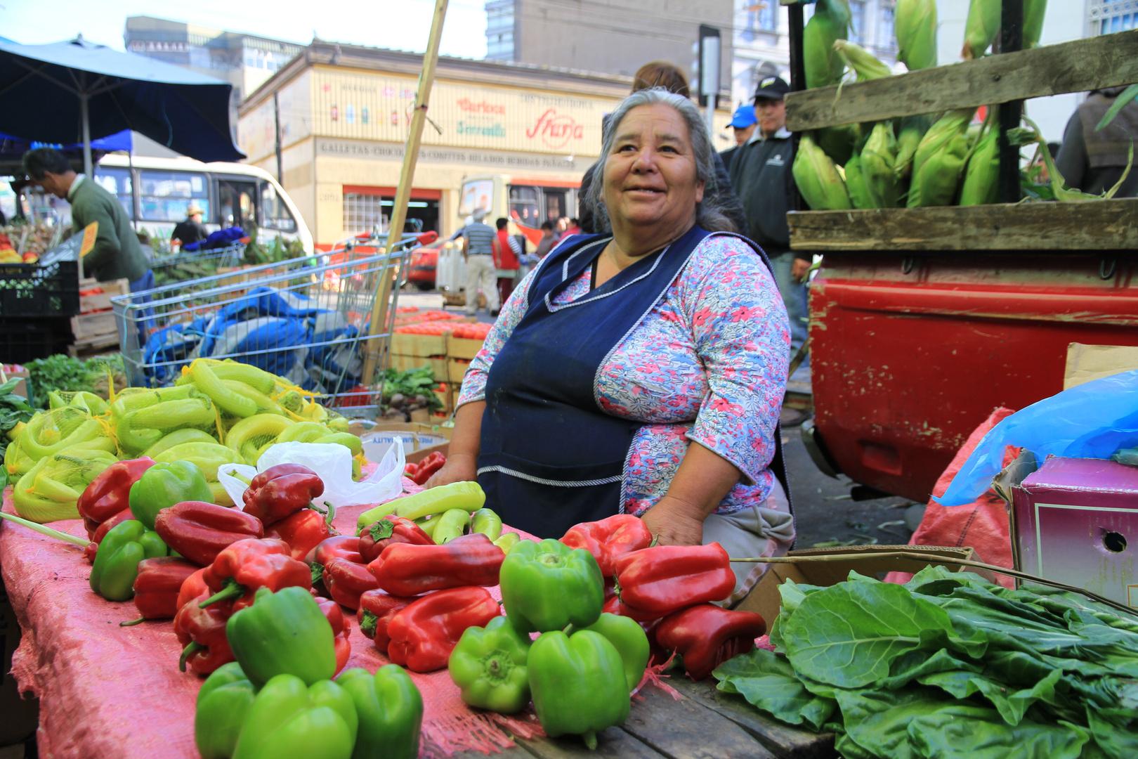 Chile Valparaiso: Markt