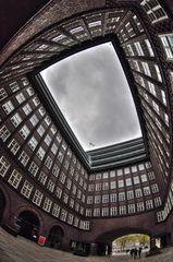 Chilehaus Hamburg .